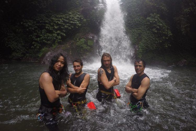 Каньонинг на Бали