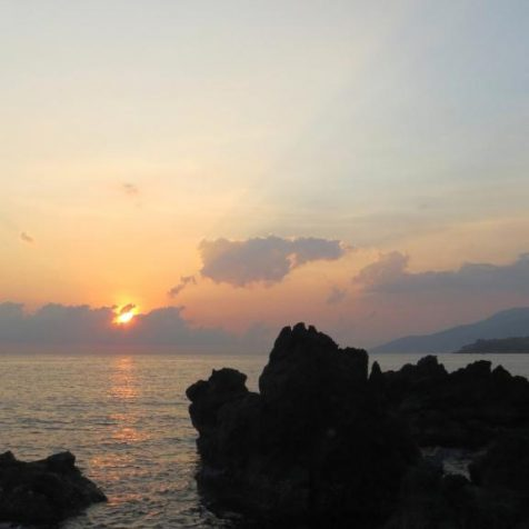 Рассвет на Бали