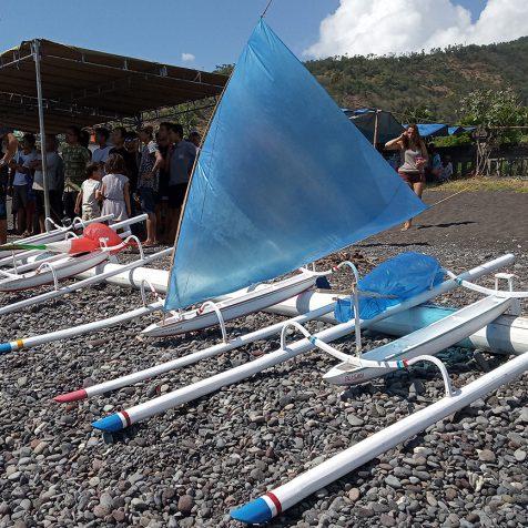 Соревнование мини-джукунгов на Бали в Амеде