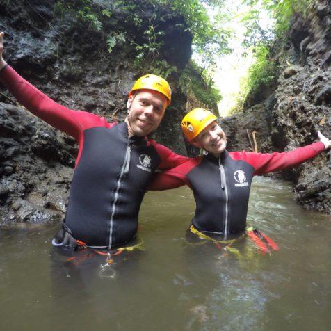 Экскурсии на Бали - Каньонинг