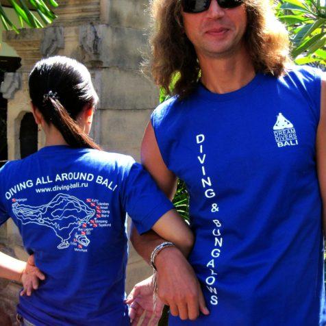 Новые футболки Dream Divers Bali