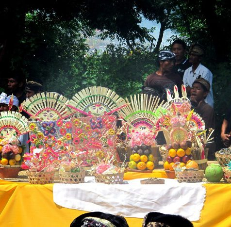Церемония кремации на Бали