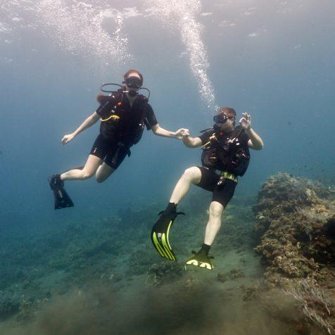 Пробное погружение на Бали
