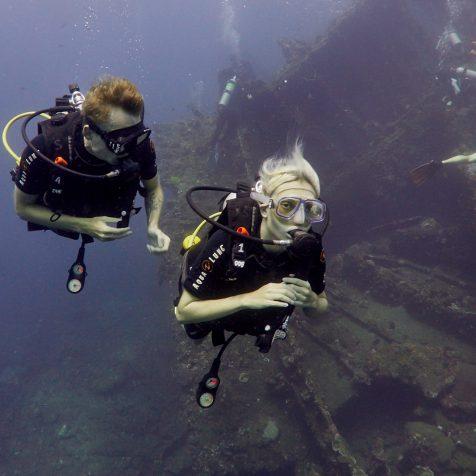 Пробные погружения на Бали