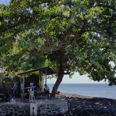 Дайв-сайт Coral Garden, Туламбен