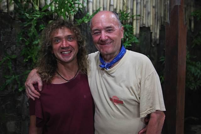 пан Палкевич отдыхает на Бали
